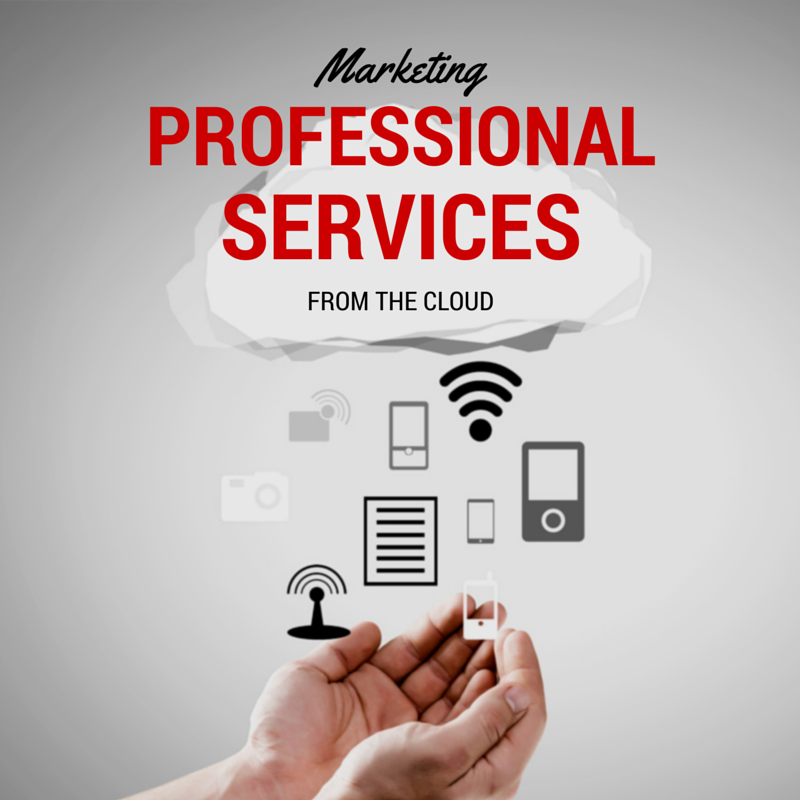 professional services marketing from the cloud